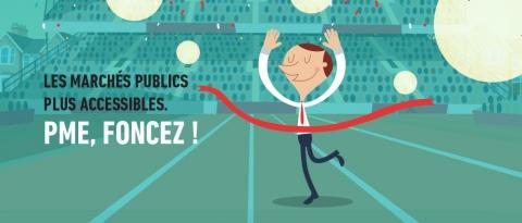 Marchés publics : accès facilité pour les PME -