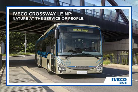 New Crossway Low Entry Natural Power - Iveco Bus