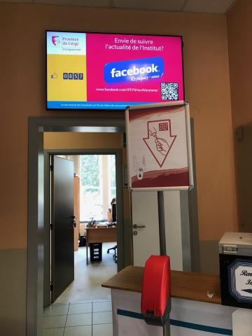 Système de gestion de files d'attente pour les inscriptions des étudiants - Expansion TV