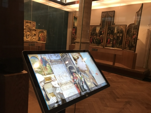 Des bornes tactiles pour le Musée de Bruxelles à la Maison du Roi - Expansion TV