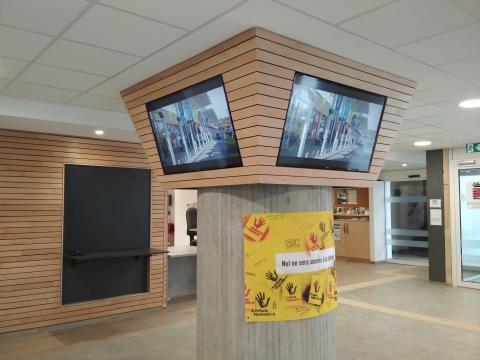 Système d'affichage dynamique au sein de la Ville d'Arlon - Expansion TV