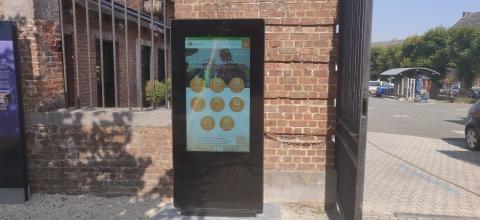 Une borne tactile interactive pour l'ASBL CIttaslow à Silly - Expansion TV