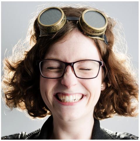 Britta Verheeken is gestart op 4 juli als webdesigner. - Moizo