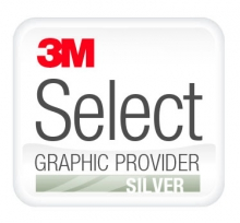 3M Select Graphic Provider Silver