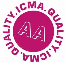 L'organisme d'enquêtes indépendant ICMA a effectué  une enquête de satisfaction auprès d'un certain nombre d'entre vous qui occupez moins de 50 travailleurs. Le label AA nous a été attribué.