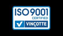Certification ISO 9001 depuis 2002.