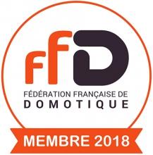Membre de la fédération française de Domotique (section Belgique)