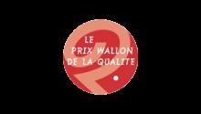 Récompensé par le Mouvement Wallon via l'attribution du Prix Wallon de la qualité dans la catégorie