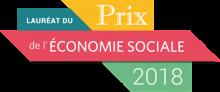 Lauréat du prix de l'économie social 2018