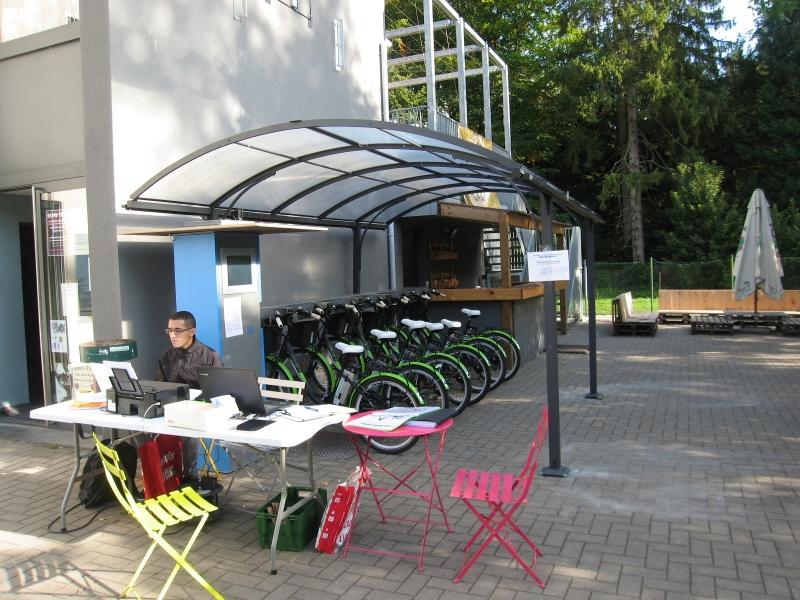 Station de Vélos électriques partagés  à  ITTRE  Wallonie