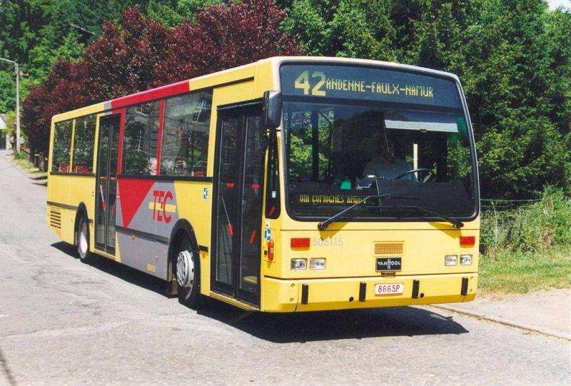Voyages Roquet bus pour TEC