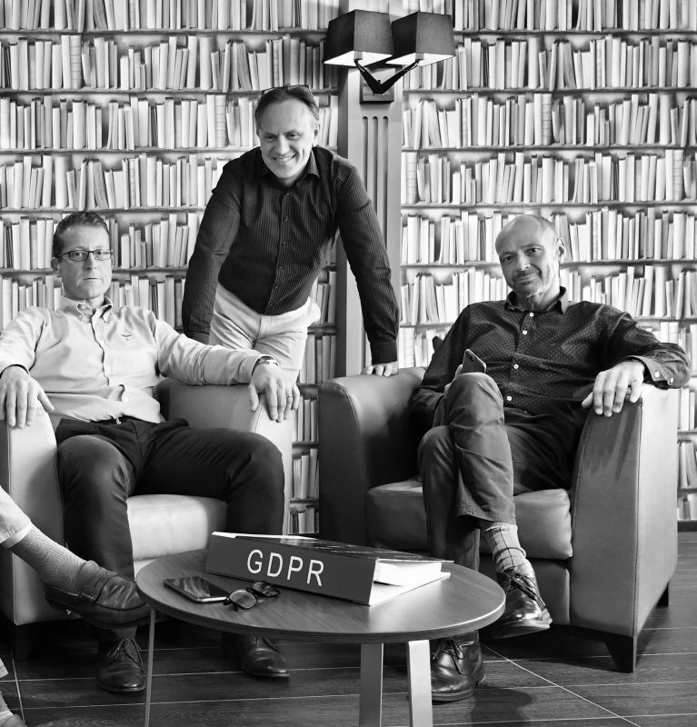 Christophe Celion, Frédéric Gelissen, Eric de Hennin